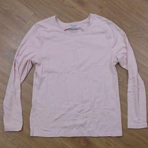 🐝Faded Glory Pink Long Sleeve Shirt